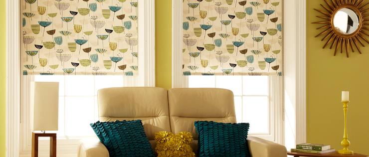 Fabric Blinds in 250 Shades